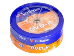 Диски DVD-R VS 16x 4.7Gb Shrink/25 - фото